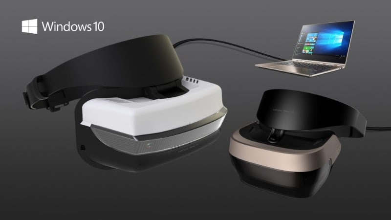 Dell, Lenovo, HP to Launch 'Affordable' VR Headsets Alongside Windows 10 Creators Update