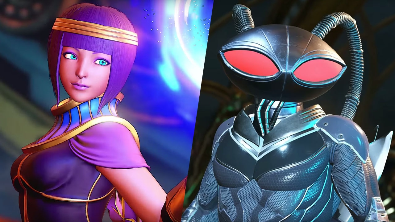 Injustice 2 Gets Black Manta on September 12; Menat Comes to Street Fighter on August 29