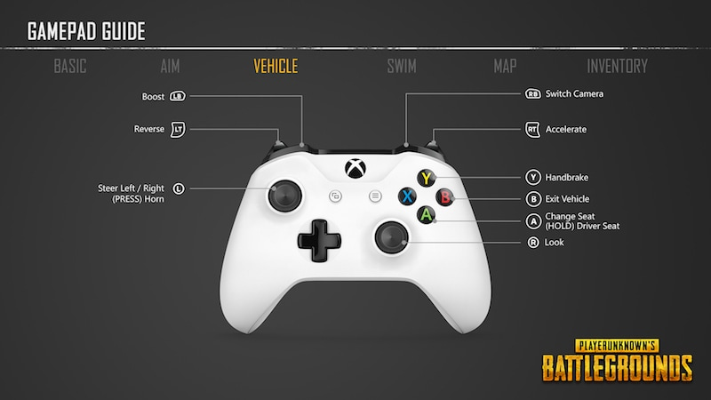 03 PUBG controller vehicle pubg_xbox_one_controller