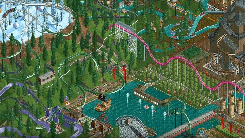 06 rollercoaster tycoon classic The Weekend Chill RollerCoaster Tycoon Classic