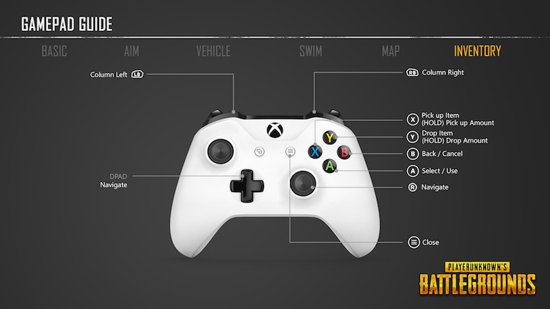 06 PUBG controller inventory pubg_xbox_one_controller
