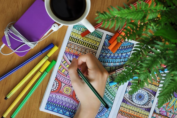 Refreshing Colouring Books For Adults: A Colourful Therapy