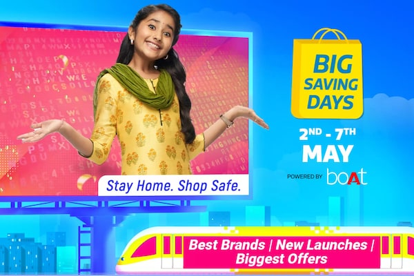 Flipkart Big Saving Days 2021 from May 2: Offers on Smartphones and Electronics