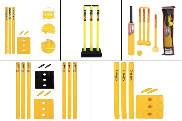 Durable Plastic Cricket Stumps For Kids
