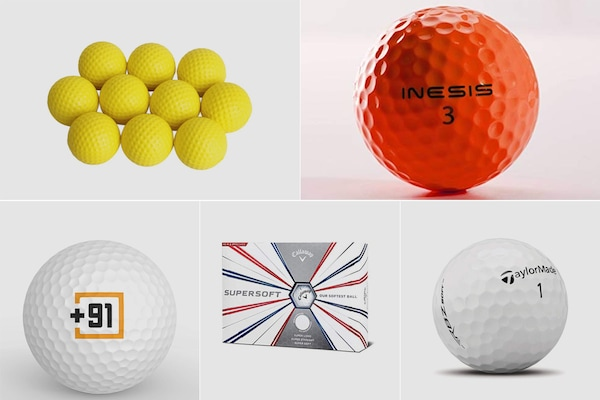 Golf Balls For Training and Professional Matches