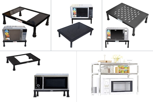 Microwave Stands To Give Your Kitchen A Perfect Look