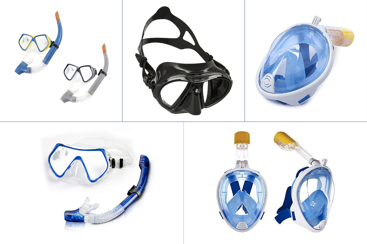Best Diving Masks: Explore Underwater Life In The Right Gear