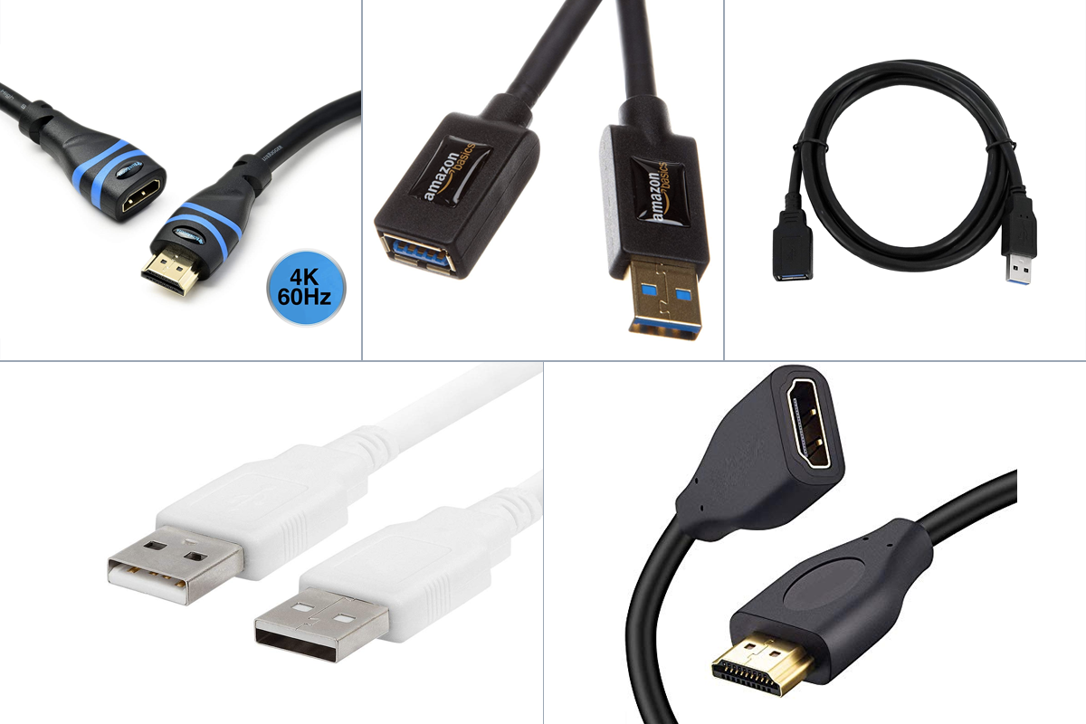 Fast And Versatile USB Extension Cables For Multitaskers