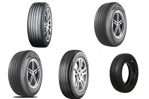Premium-Quality Tubeless Tyres For Cars