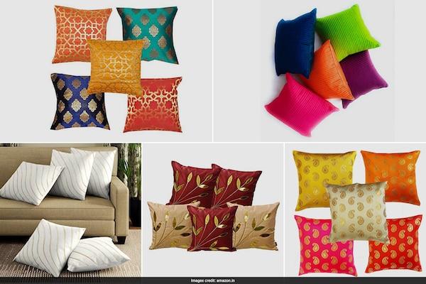 Premium-Quality Silk Cushion Covers
