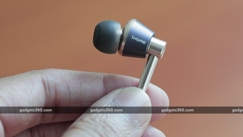 1More Triple Driver earbud ndtv 1More