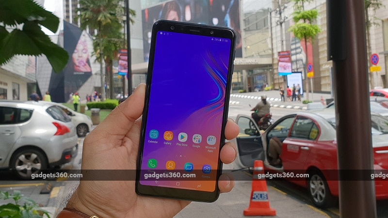 Samsung Galaxy A7 (2018) Android 10 Rollout Begins in India, Users Report