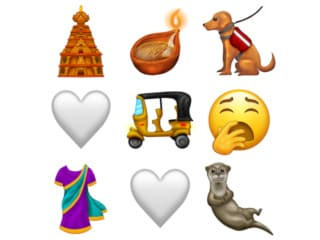 Unicode Releases Emoji 12.0 Final List for 2019, Includes Sari, Hindu Temple, Auto Ricksaw, Diya, and White Heart