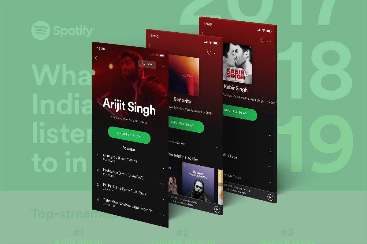 From Arijit Singh to Kabir Singh, Spotify Reveals India's Most-Streamed Songs, Artists, Albums in 2019