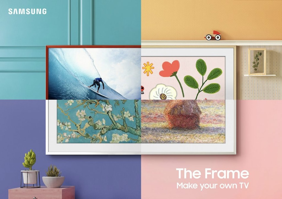 The Frame Lifestyle TV 2021 From Samsung With Customisable Bezels Brings Art to Your Home