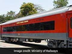 The New Look Of Indian Railways Air Conditioned Coaches. Picture Here