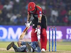 IPL: Fan Breaches Security To Touch Virat Kohli