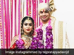 लालू प्रसाद यादव के बेटे तेजप्रताप और ऐश्वर्या का पूरा Wedding Album