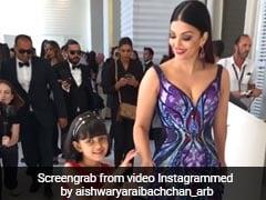 Cannes 2018: बेटी के साथ ऐश्वर्या राय का डांस Video Viral, कान में छाया बटरफ्लाई लुक...