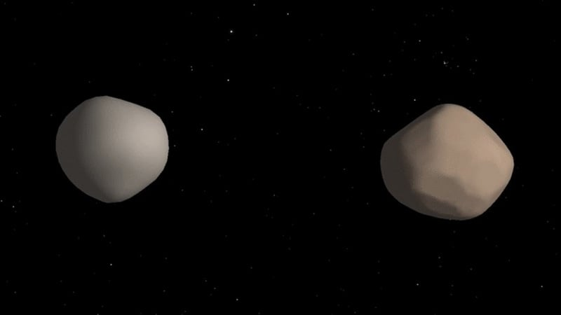 Astronomers Discover Rare Double Asteroid
