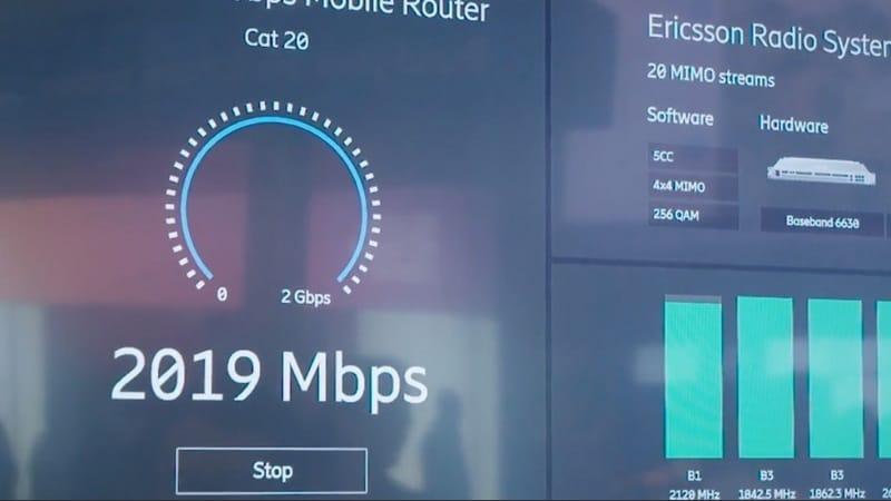 Australia's Telstra Successfully Makes World's First 2Gbps-Capable Data Call