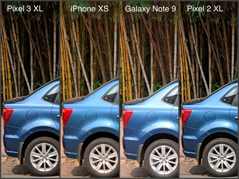 2x zoom pixel 2 100 CROP camera compare