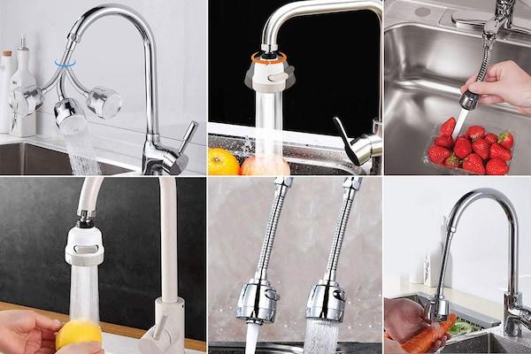 Best 360 Degree Flexible Faucet Extenders