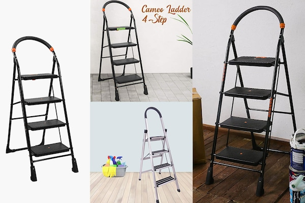 4 Step Folding Ladders For Home And Office Use