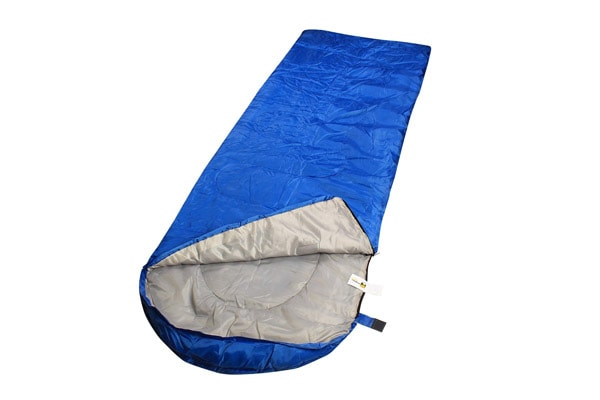 RuggedTrails All Season Waterproof Hooded Sleeping Bag with Compression Carry Bag