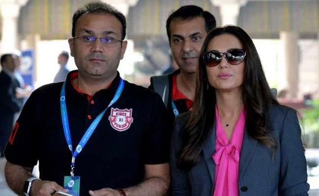 IPL 2018: किंग्स इलेवन की सह मालिक प्रीति जिंटा मीडिया पर बरसीं, सहवाग से बहस के मामले में यह बोलीं..