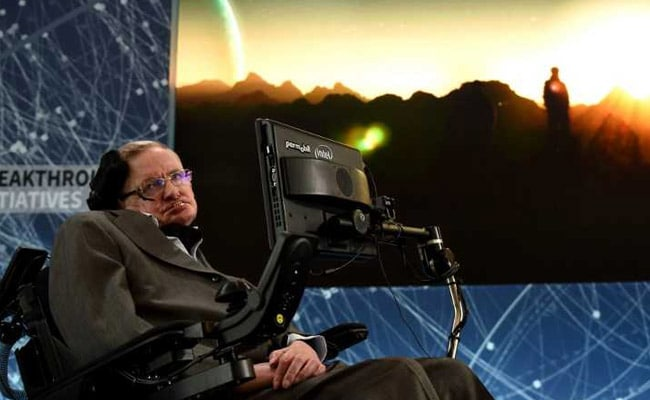 Time travellers welcome to Stephen Hawking's memorial service