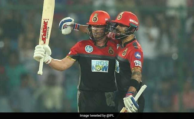 IPL 2018: विराट कोहली और एबी डिविलियर्स की जोरदार पारी, आरसीबी ने दिल्ली को 5 विकेट से हराया