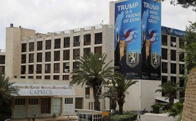 New US Embassy In Jerusalem High-Profile But Humble