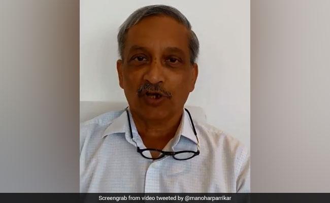 अमेरिका में कैंसर का इलाज करा रहे गोवा के सीएम मनोहर पर्रिकर ने Video के जरिये कार्यकर्ताओं से कहीं ये बातें
