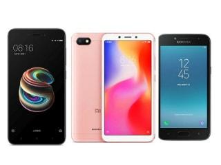 Xiaomi Redmi 6A vs Redmi 5A vs Samsung Galaxy J2 (2018): Price, Specifications Compared