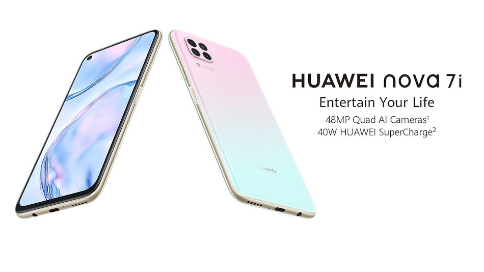 Huawei Nova 7i With Quad Cameras, 40W Fast Charging Support to Launch in India in July: Report