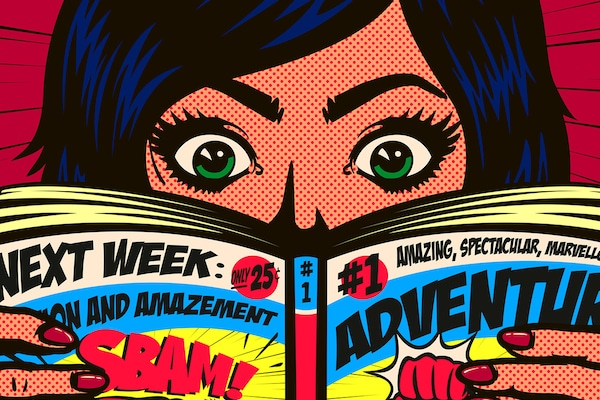Comic Strips And Comic Book Sets: Flipping To Entertainment