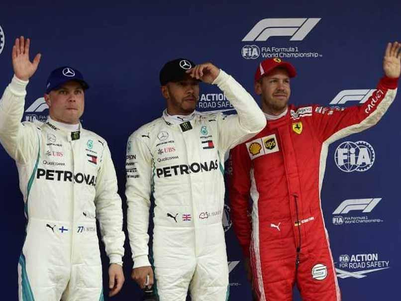 Spanish Grand Prix: Mercedes Lewis Hamilton Takes Pole, Ferraris Sebastian Vettel To Start Third