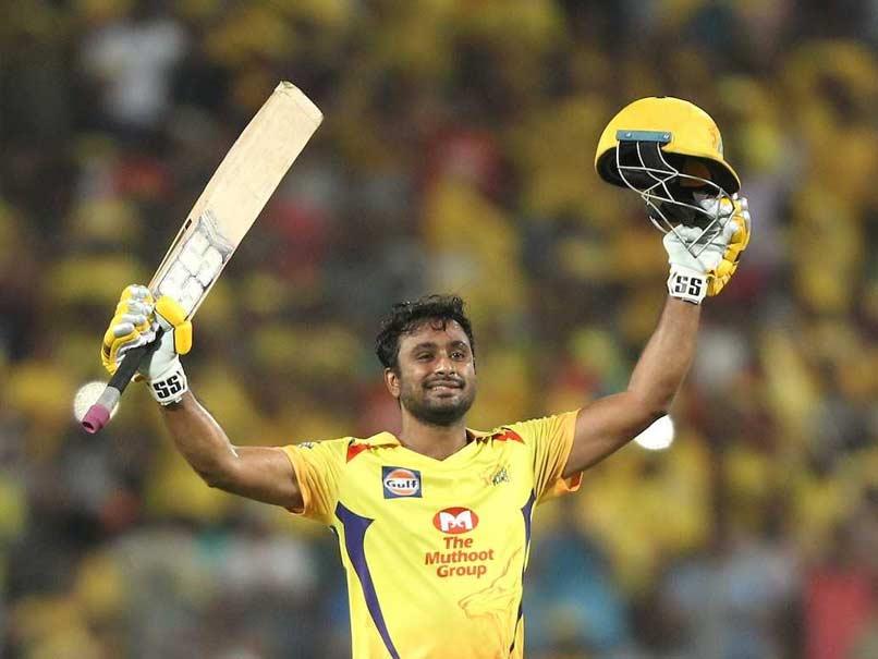 IPL 2018: Ambati Rayudu Brings Up Maiden Ton As CSK Snap SRH