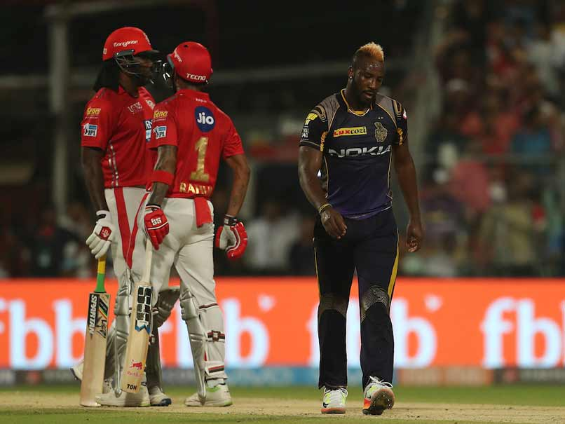 Russell, Narine star for KKR