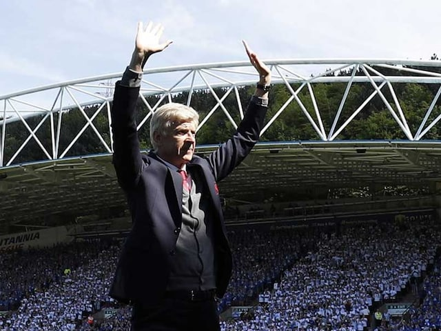 After 7,895 Days And 1,235 Games, Arsene Wenger Bids Emotional Farewell To Arsenal