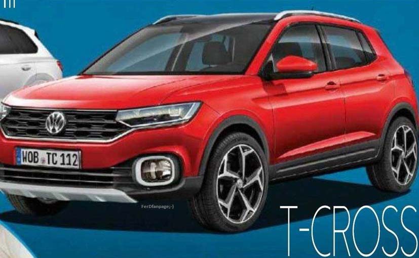 Production Spec Volkswagen T-Cross Compact SUV Leaked Online