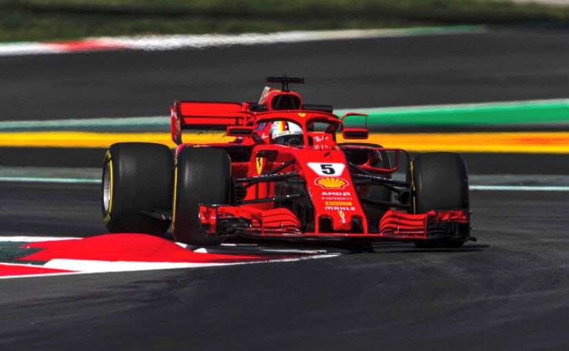 Vettel's struggles continue with 4th place at Spanish GP