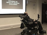 Stephen Hawking Opens Artificial Intelligence Hub at Cambridge University