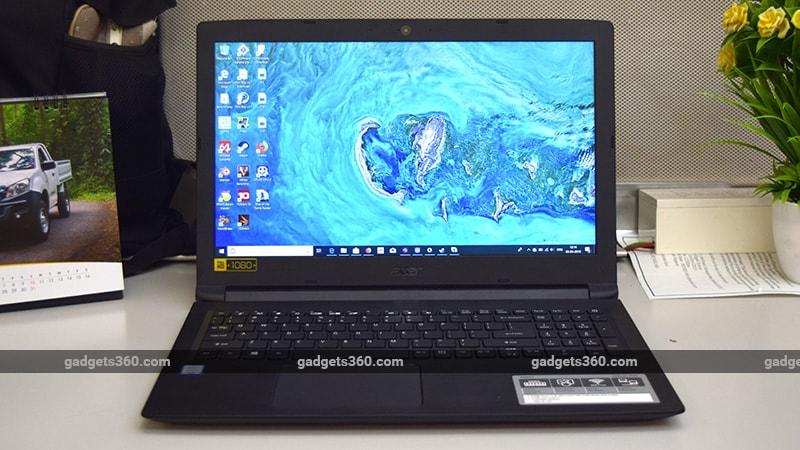 Acer Aspire 3 (A315-53-317G) Review | NDTV Gadgets360 com