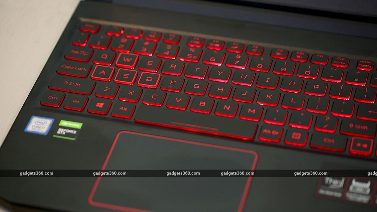 Acer Nitro 7 keys acer