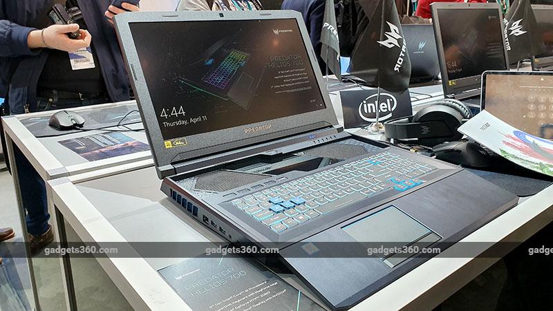 Acer Predator Helios 700 First Impressions | NDTV Gadgets360 com