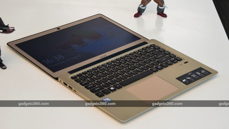 Acer Swift 3 flat open ndtv Acer Swift 3