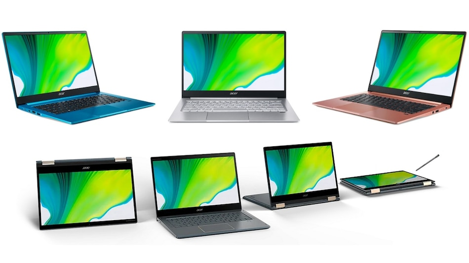 Acer Swift 3, Acer Swift 5 With 11th-Gen Intel Core CPUs and Acer Spin 7 With Snapdragon 8cx 5G SoC Launched