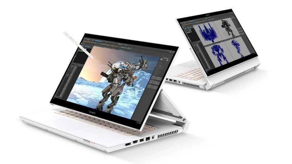 Acer ConceptD Series, Predator Series, TravelMate Series, Swift X Updated With Latest Intel, AMD CPUs